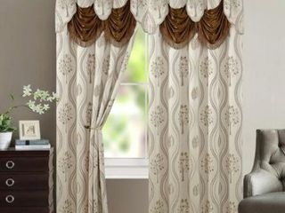 Aurora Tree leaf Jacquard Window Panel with