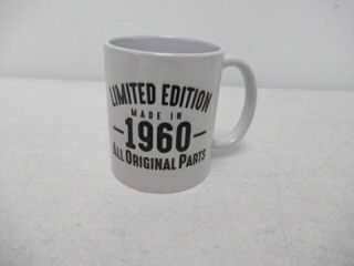 Mug 1960 60th Birthday Gifts limited Edition Made