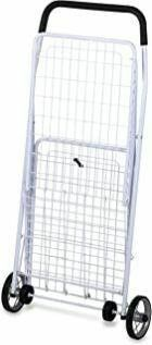 Honey Can Do CRT 01513 large Folding Shopping Cart