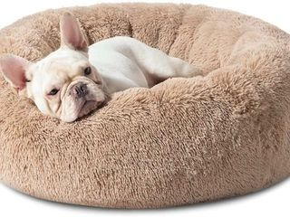 Bedsure Small Dog Bed Washable   Self Calming Dog