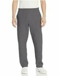 Essentials Men s XXl Fleece Sweatpants  Charcoal