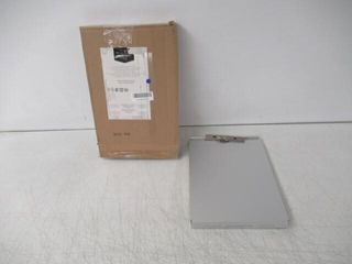 As Is  Basics Aluminum Storage Clipboard   12 5