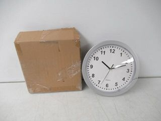As Is  Stalwart 82 5894 Wall Clock with Hidden