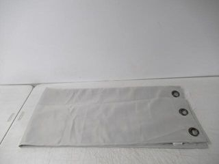 84  Top Grommet Window Panel  light Grey