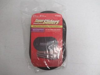 SuperSliders 4713995N Reusable Felt Sliders for
