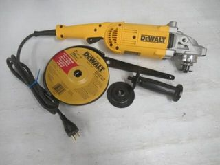 As Is  Dewalt DWE4517W 7 Inch 8500 RPM 4HP Angle