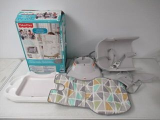 Used  Fisher Price SpaceSaver High Chair  Geo