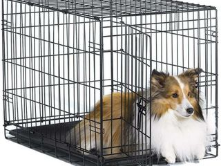 New World 30  Folding Metal Dog Crate  Includes