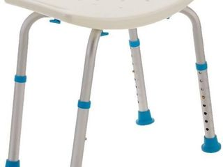 AquaSense Adjustable Bath and Shower Chair with