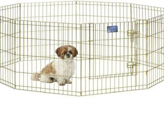 Midwest Foldable Metal Exercise Pen Pet Playpen