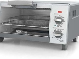 BlACK DECKER 4 Slice Toaster Oven with Air Fry