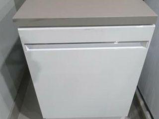 As Is  GE 23 62  58dB Portable Dishwasher