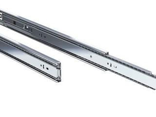 1 Pair 26  100lb Steel Ball Bearing Drawer Slides