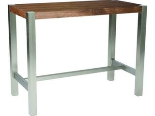 Moe s Riva Countertable Walnut