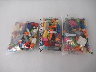 As Is  lot of Assorted lego Pieces
