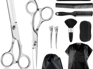 Professional Hair Cutting Scissors Kit  Thinning