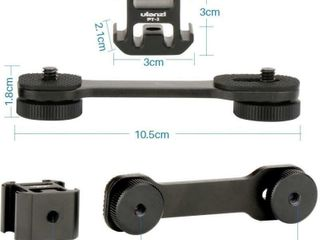 Ulanzi PT 3 Triple Cold Shoe Mount Plate