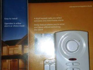 GE smart home door alarm new in package