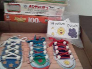 Children puzzles  lot of 10 pcs