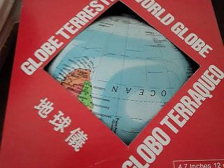 World Globe  4 7 in