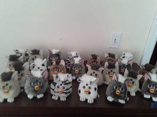 Furby stuffed animals  lot of 23