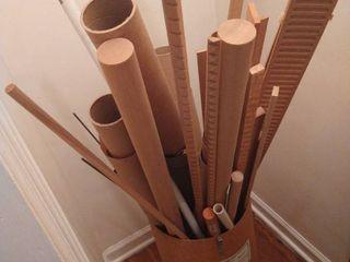 Various wood trim pieces