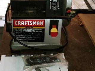 Craftsman 4 x 36 in belt and 8 in disc sander
