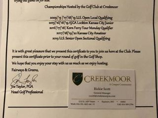 The Golf Club at Creekmoor