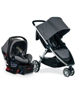 Britax B lively And B Safe Ultra Travel System   Gris
