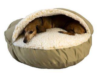 Snoozer Cozy Cave  Khaki  Small