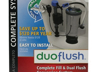 Fluidmaster 550DFRK 3 Duo Flush Fill and Dual Flush Conversion System
