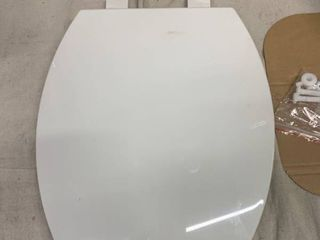 AquaSource White Elongated Slow Close Toilet Seat