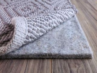 FiberSoft Extra Thick 100 percent Felt Rug Pad for All Floors   Grey  Retail 89 99