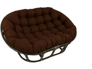 Blazing Needles 78 inch Indoor Outdoor Double Papasan Cushion  Retail 221 49  Base Not Included