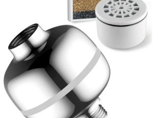 HotelSpa Advanced High Intensity Super Compact Universal 3 Stage Shower Filter