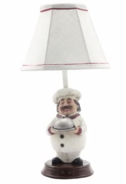 Jolly Chef Accent lamp   7 W x 6 D x 12 H