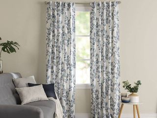 PAIR OF Miller Curtains Oswald Back Tab Blackout Panel