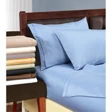 Superior Egyptian Cotton 1200 Thread Count Solid Pillowcase Set  Set of 2
