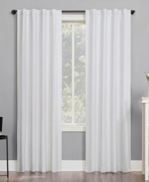 PAIR OF Sun Zero Cyrus Thermal 100  Total Blackout Back Tab Curtain Panel