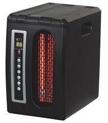 Comfort Glow Black Compact Infrared Heater  Retail 91 52