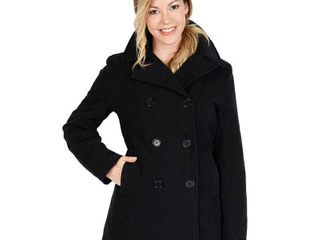 Excelled Women s Double Breasted Pea Coat