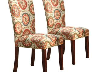 HomePop Parsons Dining Chair  Set of 2  Retail 179 99