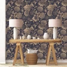 House of Hampton Peonies Removable Wallpaper   24  inch x 10 ft