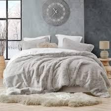 QUEEN Coma Inducer Oversized Stone Taupe Comforter Retail 207 49