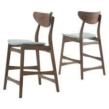 Mint Set of 2 24  Gavin Counter Height Barstool   Christopher Knight Home