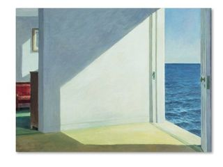 Edward Hopper  Rooms by the Sea  Canvas Art