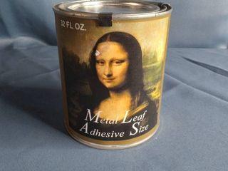 Metal leaf Adhesive Size 32fl OZ