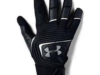 Under Armour Boys  Youth Clean Up 19 Baseball Gloves   Black  002 Graphite   Youth Small
