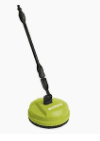 Sun Joe Surface  Deck   Patio Cleaning Attachment for SPX Series Pressure Washers 10 Inch