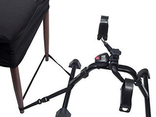 Vaunn Medical Folding Pedal Exerciser with Electronic Display for legs and Arms Workout  Fully Assembled Exercise Peddler  no Tools Required